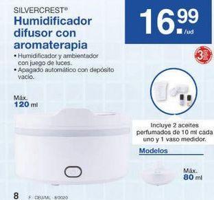 Oferta de Humidificador SilverCrest por 16.99€