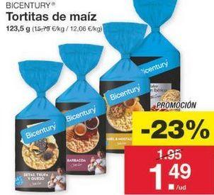 Oferta de Tortitas de maíz Bicentury por 1.5€