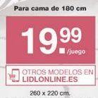 Oferta de Ropa de cama Meradiso por 20.99€