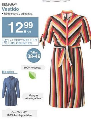 Oferta de Vestidos esmara por 12.99€