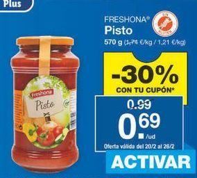 Oferta de Pisto Freshona por 0.69€