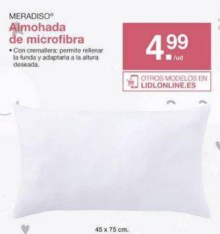 Oferta de Almohada Meradiso por 4.99€