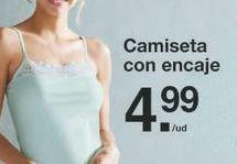 Oferta de Camiseta interior por 4.99€