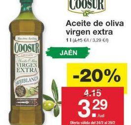 Oferta de Aceite de oliva virgen extra Coosur por 3.32€