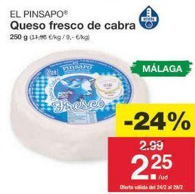 Oferta de Queso fresco por 2.27€