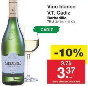 Oferta de Vino blanco por 3.38€