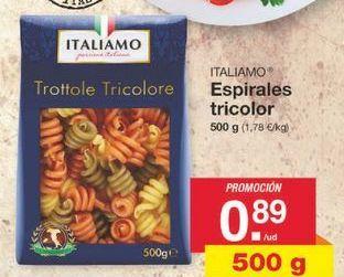 Oferta de Pasta Italiamo por 0.89€