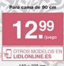 Oferta de Ropa de cama Meradiso por 12.99€
