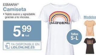 Oferta de Camiseta esmara por 5.99€
