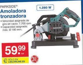 Oferta de Amoladora Parkside por 59.99€