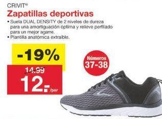 Oferta de Deportivas Crivit por 12.14€