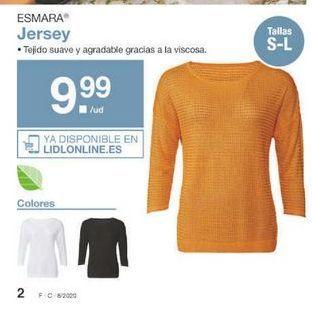 Oferta de Jersey mujer esmara por 9.99€