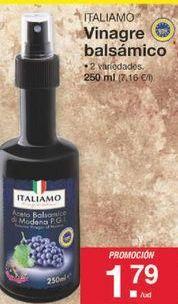 Oferta de Vinagre Italiamo por 1.79€