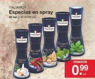 Oferta de Especias Italiamo por 0.99€