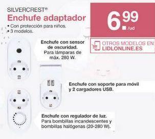 Oferta de Enchufes SilverCrest por 6.99€