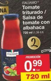 Oferta de Tomate triturado Italiamo por 0.99€