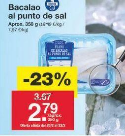 Oferta de Bacalao por 2.83€