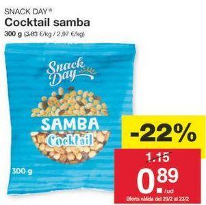 Oferta de Cóctel de frutos secos Snack Day por 0.9€