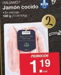 Oferta de Jamón cocido Italiamo por 1.19€