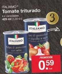 Oferta de Tomate triturado Italiamo por 0.59€