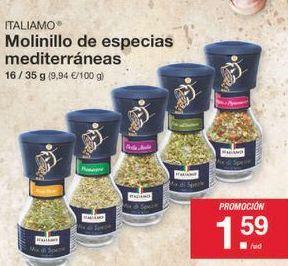 Oferta de Molinillo Italiamo por 1.59€