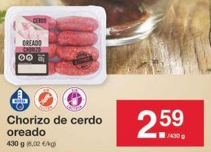 Oferta de Chorizo por 2.59€