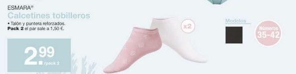 Oferta de Calcetines tobilleros esmara por 2.99€