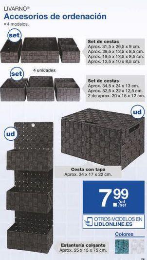 Oferta de Cajas Livarno por 7.99€