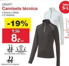Oferta de Camiseta manga larga Crivit por 8.09€