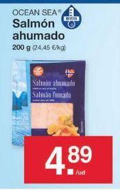 Oferta de Salmón ahumado ocean sea por 4.89€