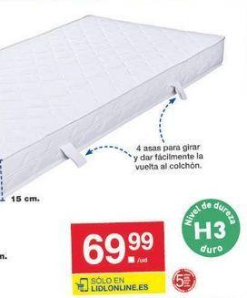 Oferta de Colchón de espuma Meradiso por 69.99€