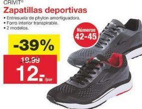 Oferta de Zapatillas Crivit por 12.19€