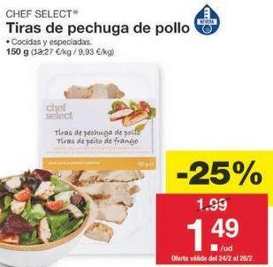 Oferta de Pollo chef select por 1.49€
