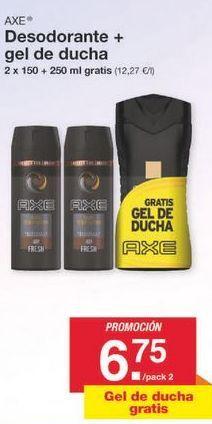 Oferta de Desodorante Axe por 6.75€