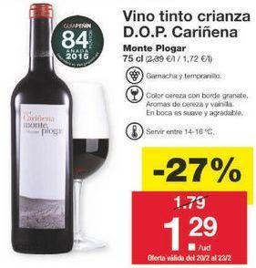 Oferta de Vino tinto por 1.31€