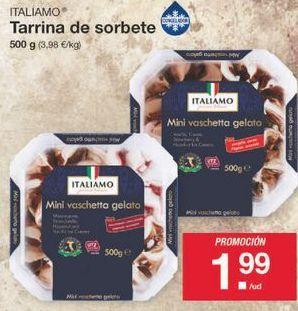 Oferta de Tarrina de helado Italiamo por 1.99€