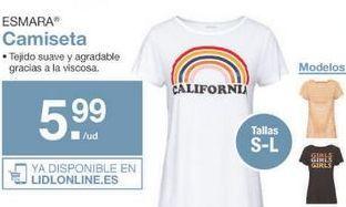 Oferta de Camiseta mujer esmara por 5.99€