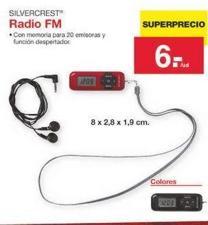 Oferta de Radio SilverCrest por 6€