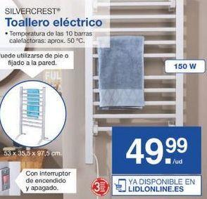 Oferta de Toallero SilverCrest por 49.99€