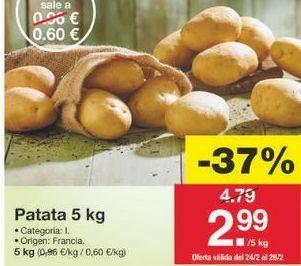 Oferta de Patatas por 3.02€