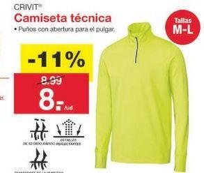 Oferta de Camiseta Crivit por 8€