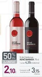 Oferta de Vino René Barbier por 3.15€