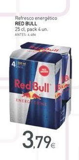 Oferta de Bebida energética Red Bull por 3.79€