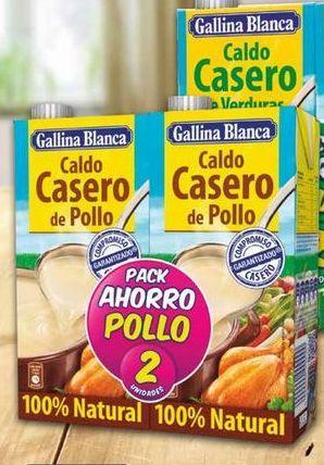 Oferta de Caldo casero Gallina Blanca por 2.14€