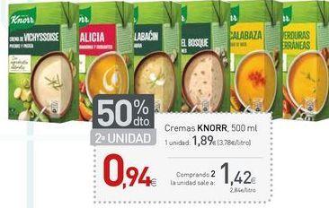Oferta de Cremas Knorr por 1.42€