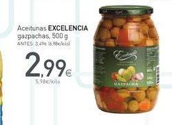 Oferta de Aceitunas Excelencia por 2.99€