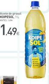 Oferta de Aceite de girasol koipesol por 1.49€