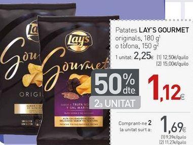 Oferta de Patatas chips lays por 1.69€