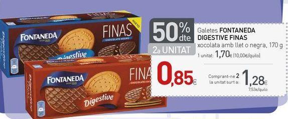 Oferta de Galletas Fontaneda por 1.27€