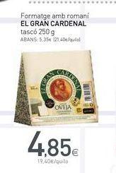 Oferta de Queso de oveja el gran cardenal por 4.85€